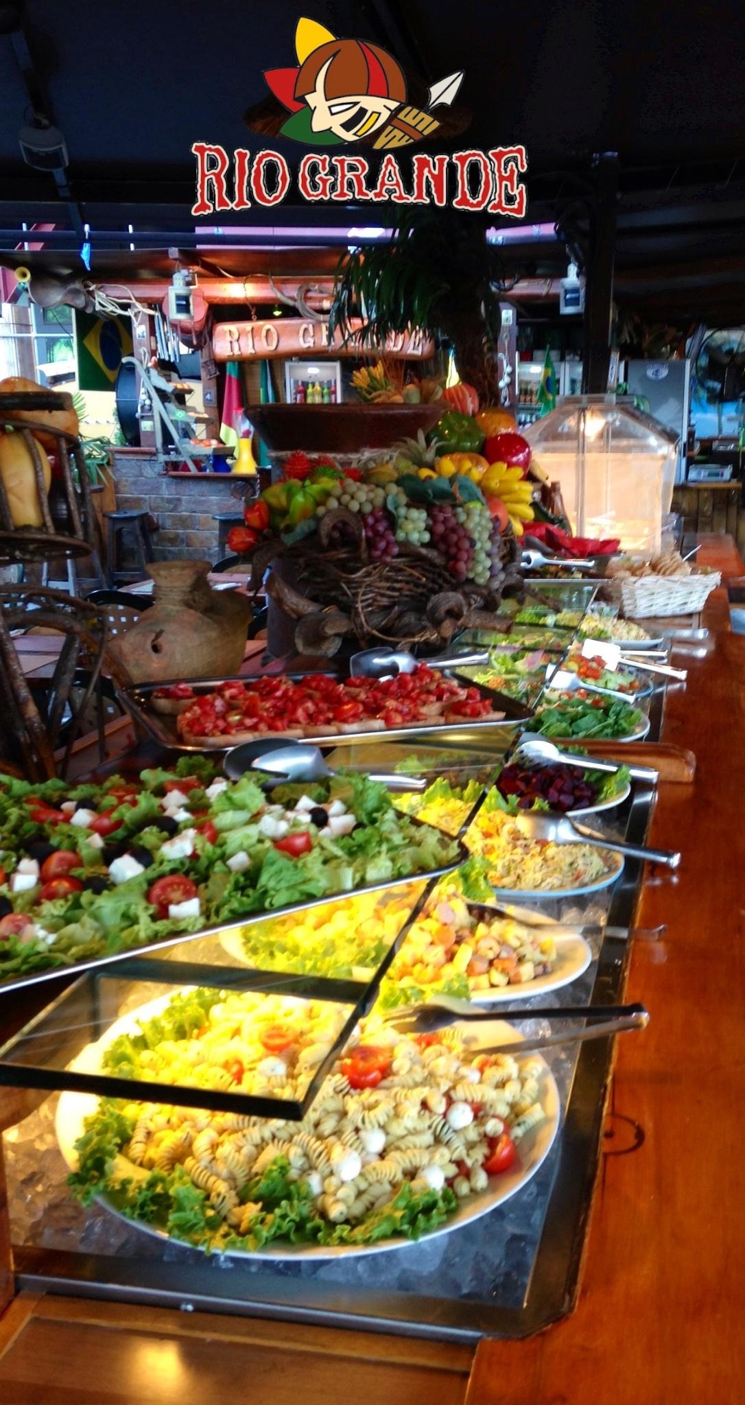 Il buffet del giardino tropicale