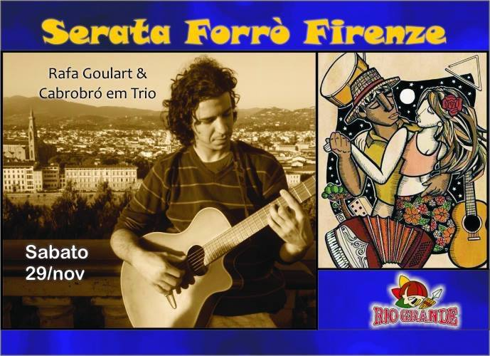 FORRÒ sabato sera a Firenze